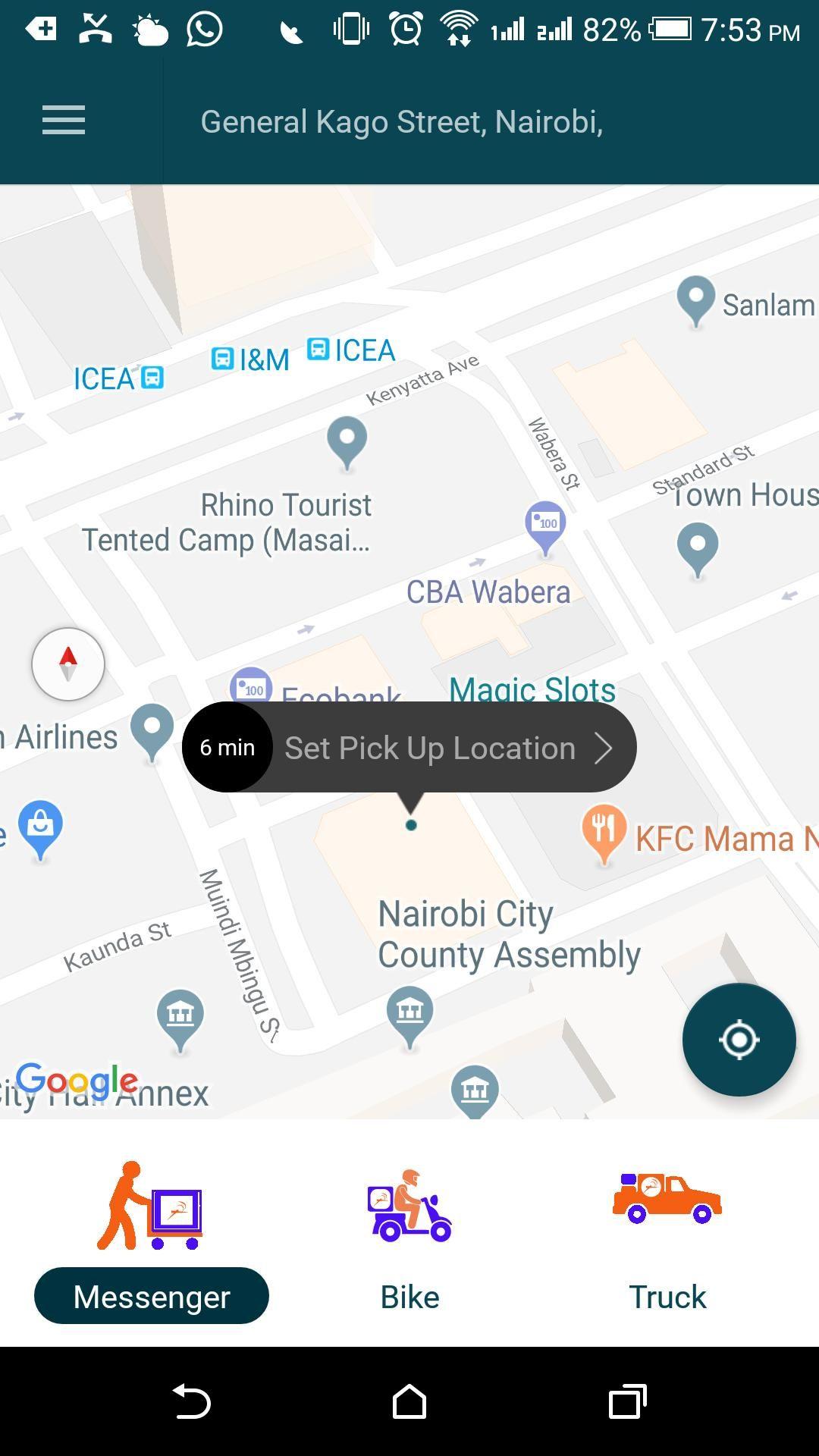 Pinno Delivery App